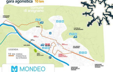 gara agonistica 16 Km / 9,9 Km